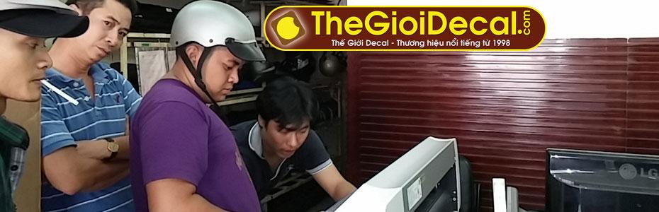 Thế Giới Decal - Chuyên nghiệp mua bán máy cắt decal, máy cắt chữ vi tính