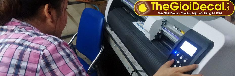 Hướng dẫn kỹ thuật in ấn, cắt bế decal