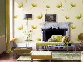 3 tiêu chí lựa chọn decal dán tường phòng khách phù hợp