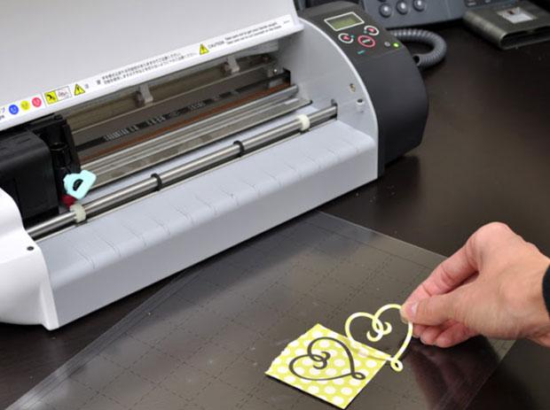 Máy cắt chữ decal mini Craft Robo
